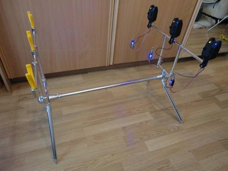 Подставка для фидера: особенности конструкции и изготовление самодельного держателя своими руками