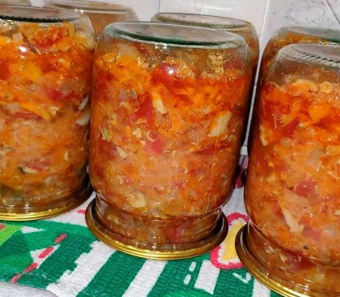 Салаты на зиму (98 рецептов с фото) - рецепты с фотографиями на поварёнок.ру