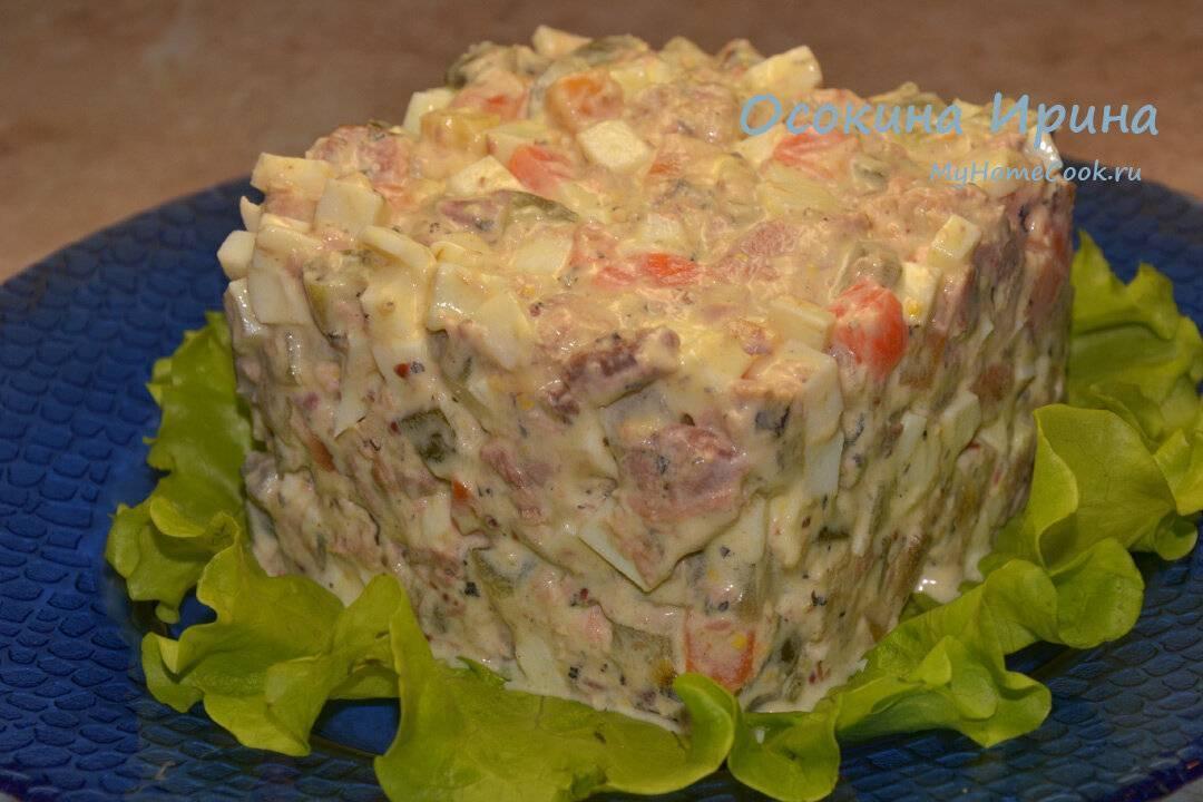 Топ-5: салат с сайрой консервированной на скорую руку / заготовочки
