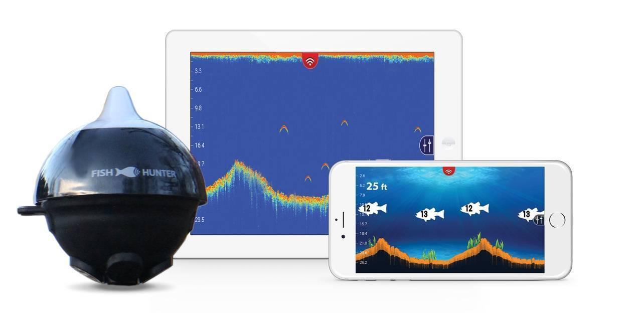 Беспроводные эхолоты: эхолот-wi-fi для рыбалки и bluetooth-эхолот для смартфона. deepfinder и обзор других лучших моделей