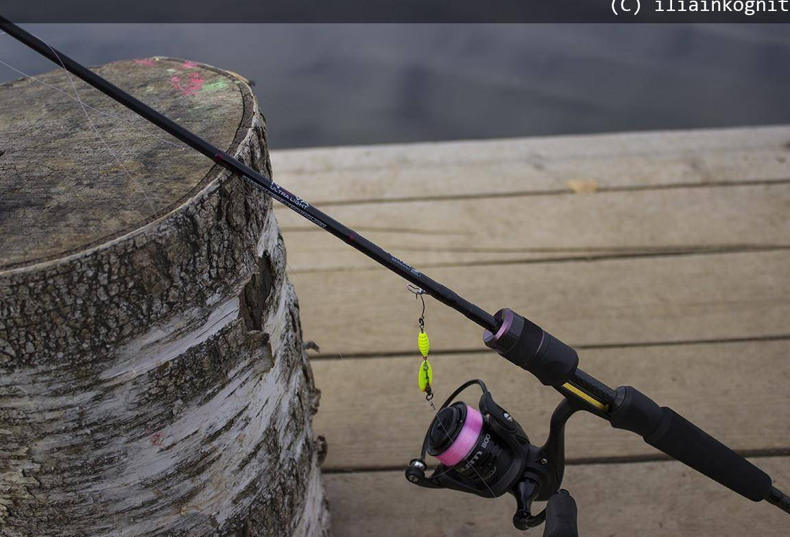 Техника и тактика ловли рыбы спиннингом на ультралайт