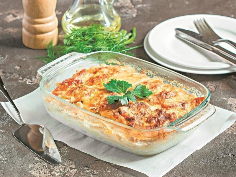 Отменная картофельная запеканка с рыбой – кулинарный рецепт