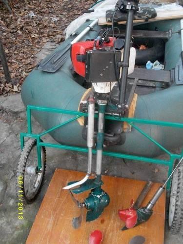 Как сделать лодочный мотор из бензопилы своими руками — изучайте с нами