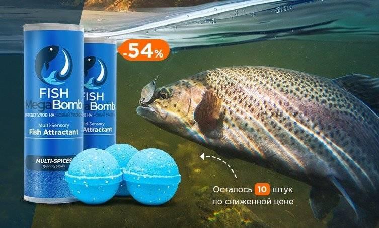 Шары для рыбалки фиш мегабомб