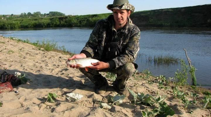 Рыбалка на речке сура