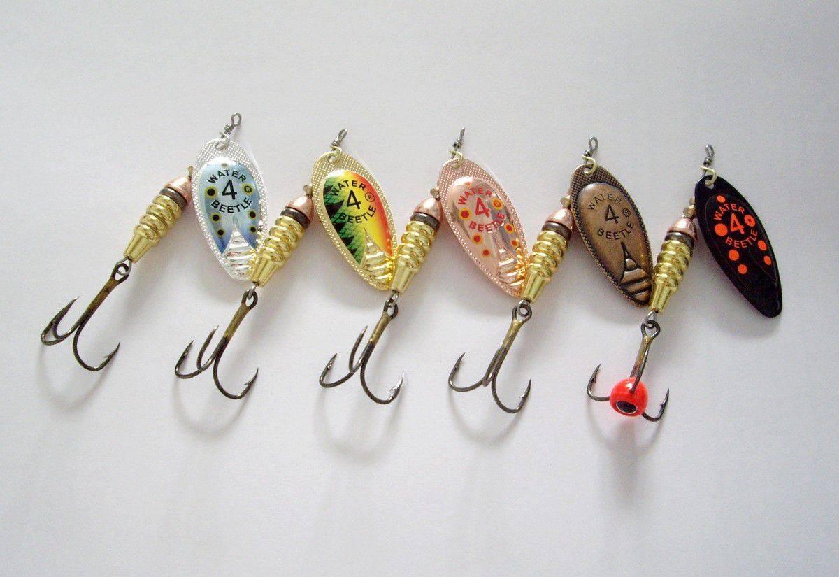 Белая вертушка № 2 для лососевых