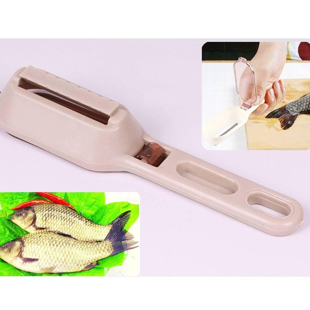 Чистилка для рыбы: как ими чистить и разновидности