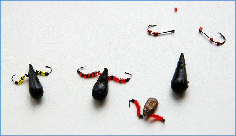 Мормышка и необходимые снасти для зимней рыбалки