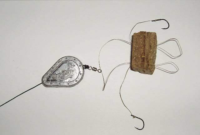 Оснастка для сазана на жмых