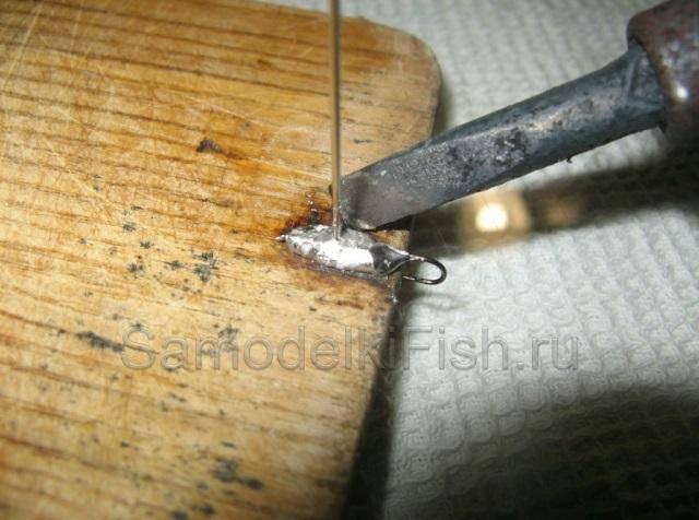 Пайка вольфрамовых мормышек в домашних условиях - сварка, пайка, металлообработка