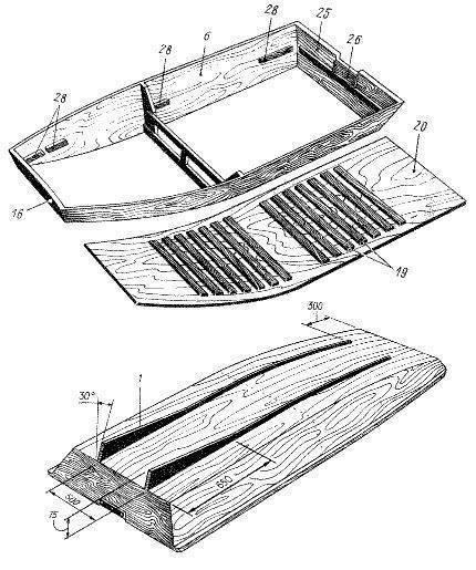 Самодельная лодка из фанеры своими руками