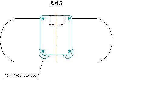Особенности навесного транца для надувных лодок пвх