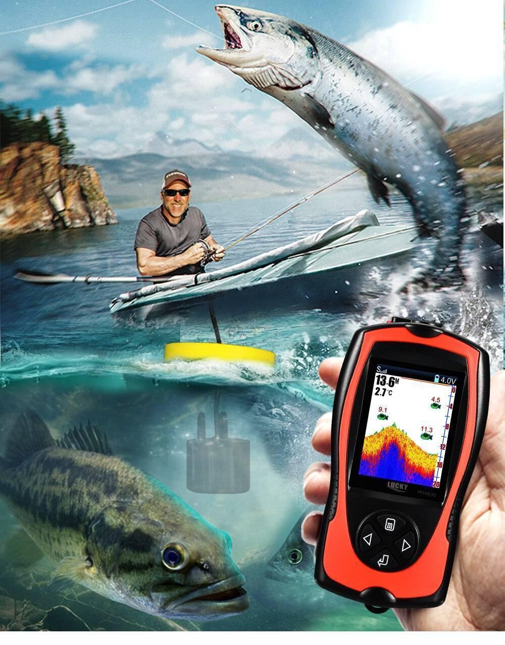 Какой эхолот лучше выбрать для рыбалки с лодки: обзор, отзывы
