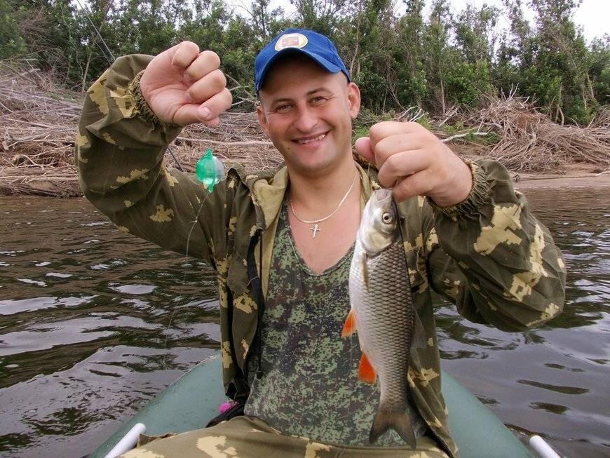 Ловля рыбы на кузнечика - плотва, жерех, голавль, язь
