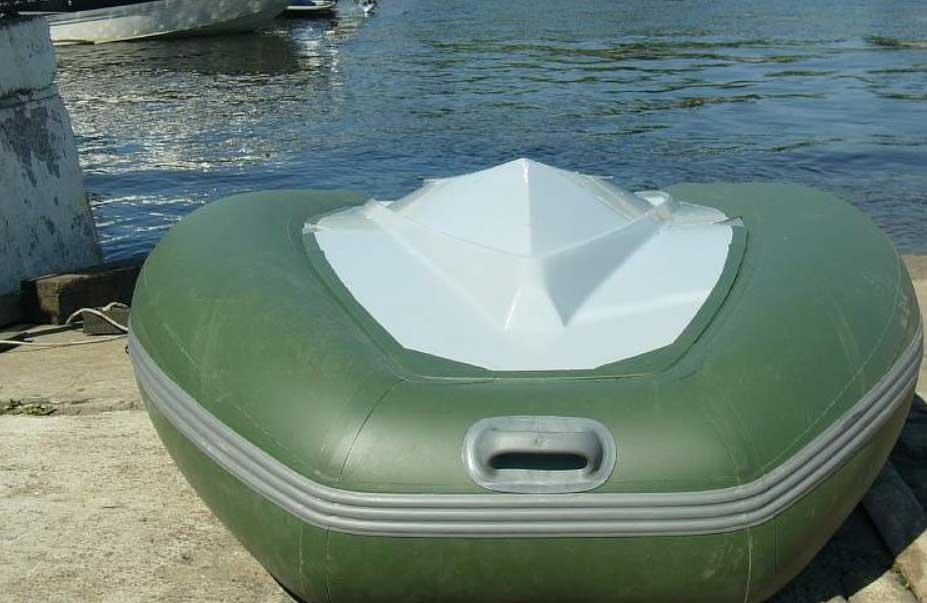 Самодельная лодка из труб пвх своими руками