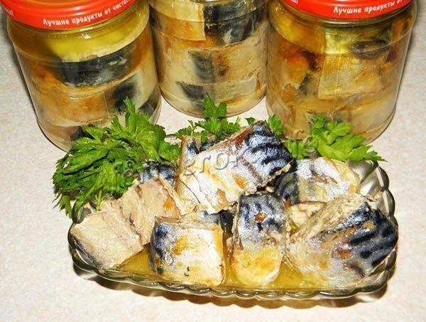 Как сделать консервы из речной рыбы в домашних условиях