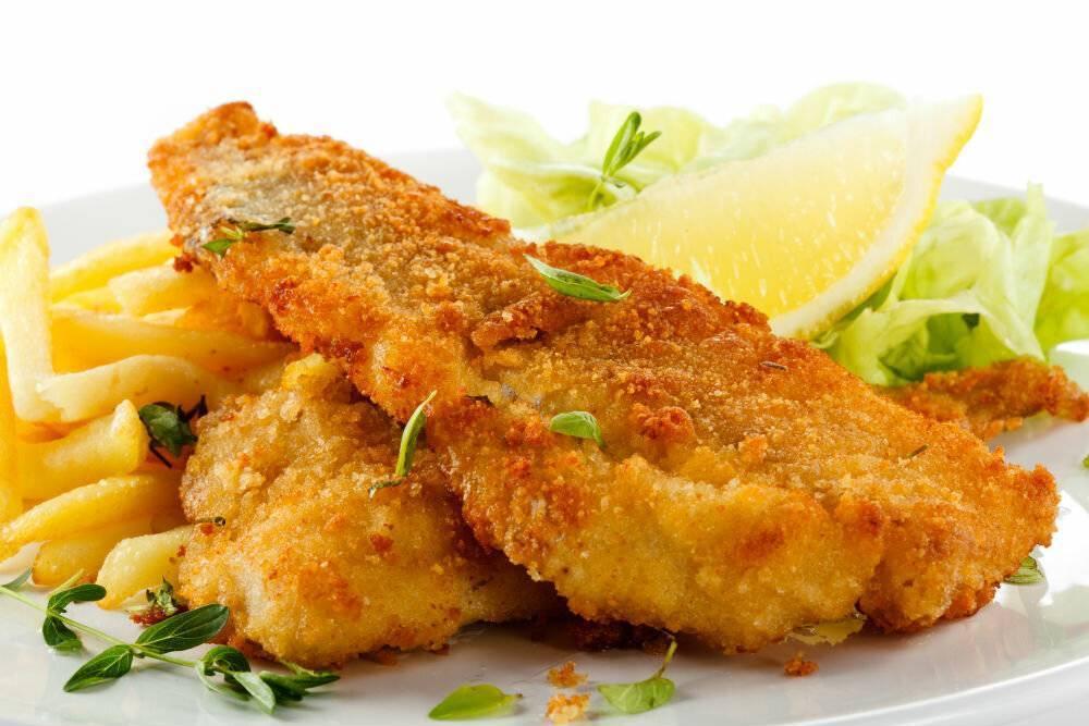 Жареная рыба в двойном кляре – кулинарный рецепт