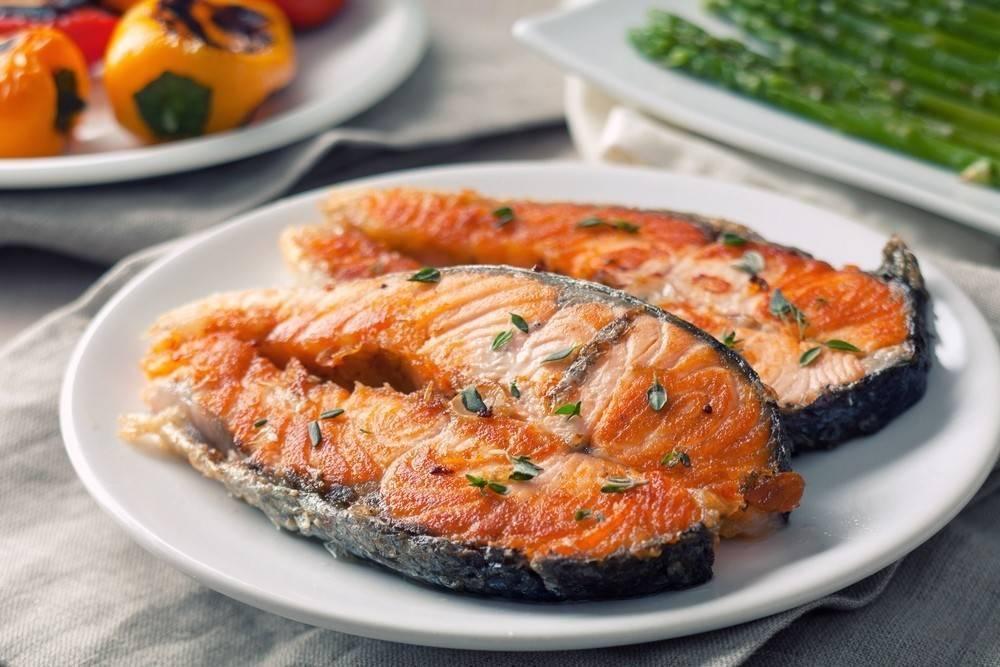 Как приготовить стейк из семги на сковороде – рецепты