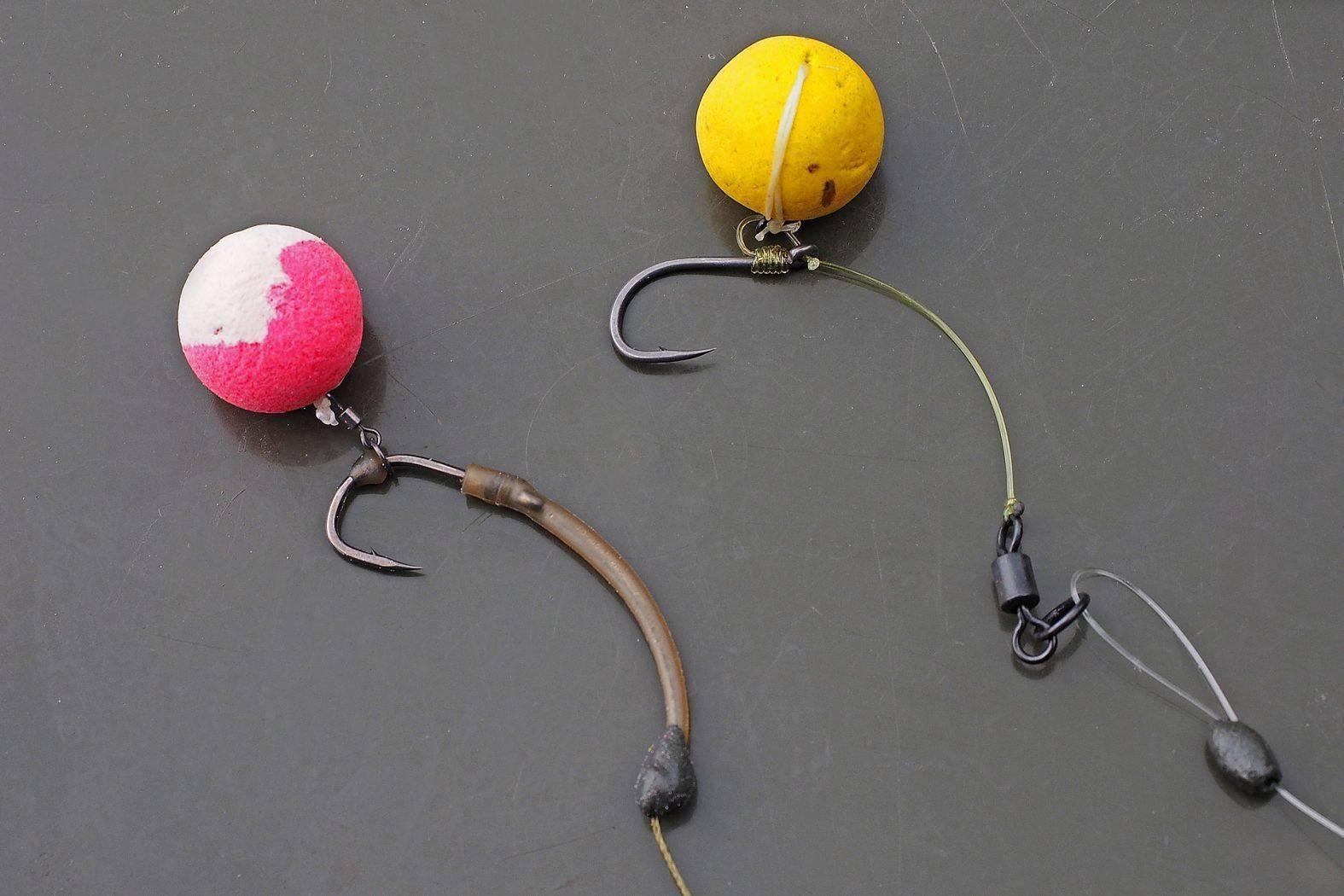 Как ловить карпа на бойлы и подготовить рыболовную оснастку