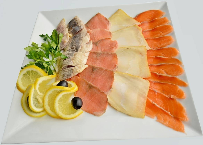 Идеи для оформления рыбной нарезки