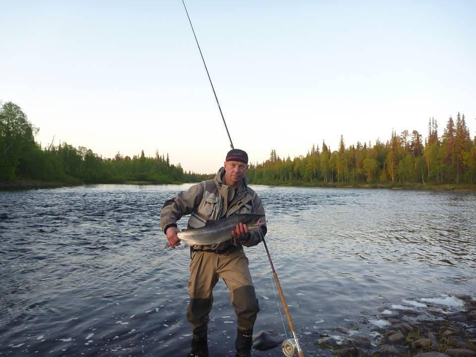Зимняя рыбалка на кольском полуострове, село ловозеро