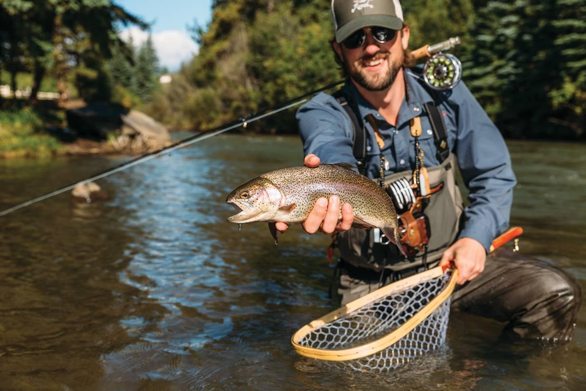 Снасть нахлыстом для начинающих - рыбалка