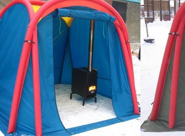 Палаточная ткань: из какого материала делают зимние и летние палатки и тенты?