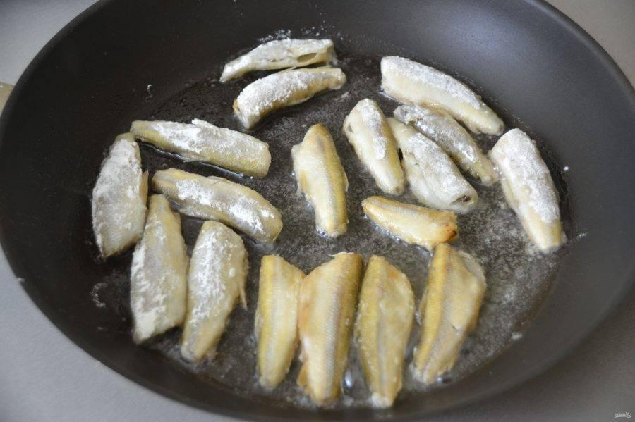 Рецепт приготовления вкусной корюшки
