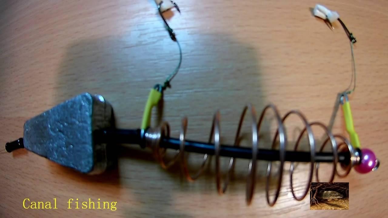 Секреты рыбалки: ловим карпа на пружину