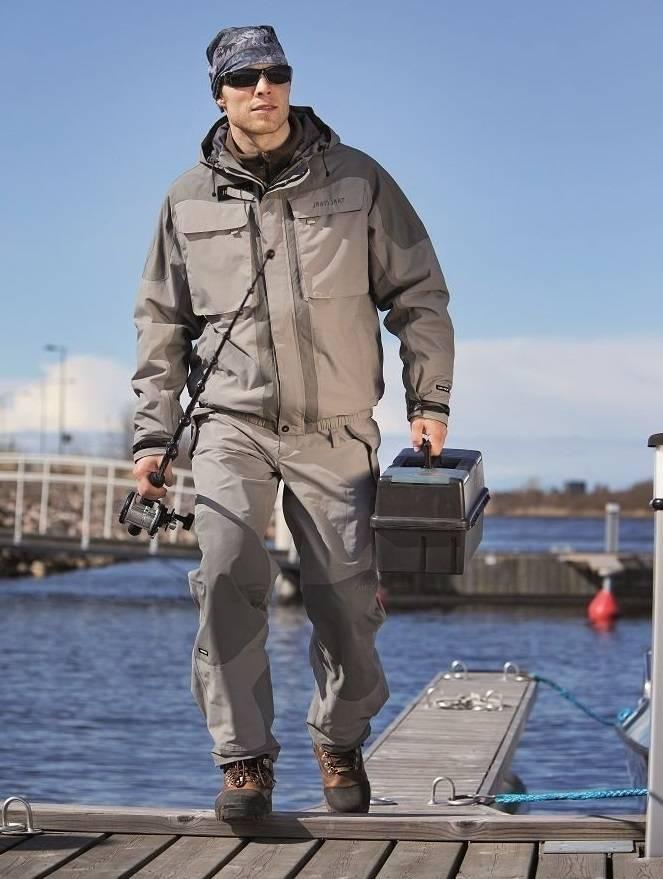 Летний костюм для рыбалки – обзор популярных моделей
