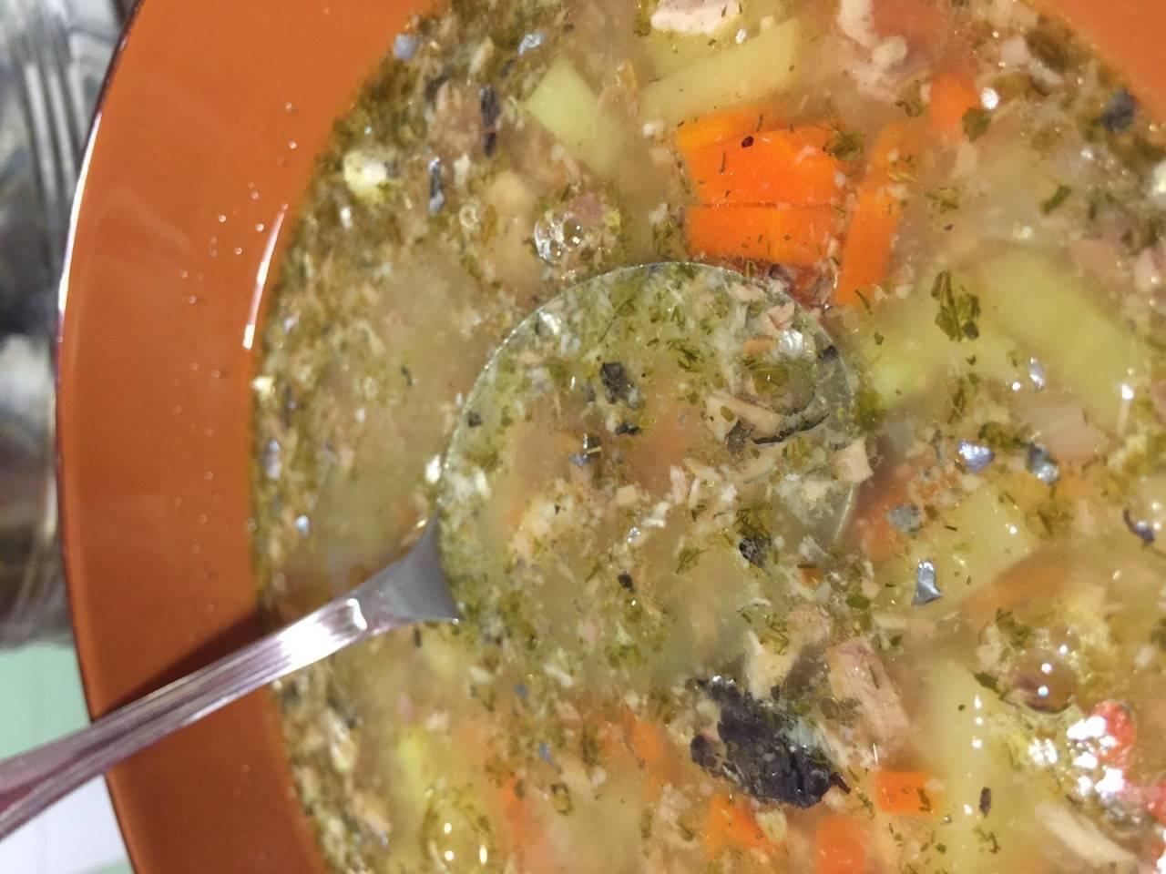 Суп из консервированной горбуши с рисом рецепт с фото пошагово - 1000.menu