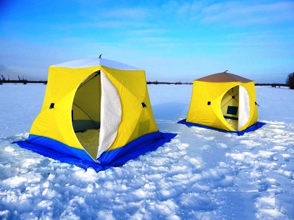 5 лучших зимних палаток - рейтинг 2020