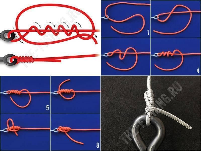 Как связать леску с плетенкой - инструкции на видео и в формате схем