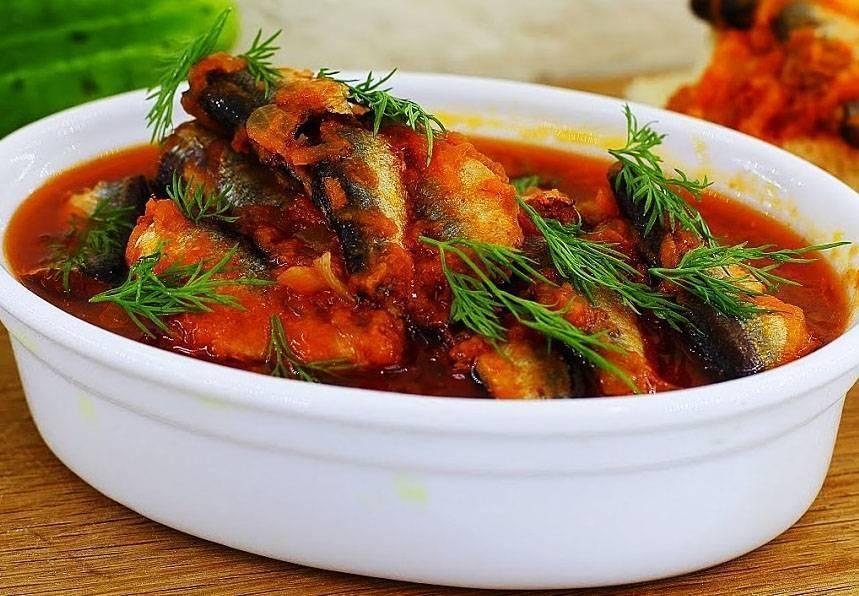 Тушеная рыба в томате / блюда из хека / tvcook: пошаговые рецепты с фото
