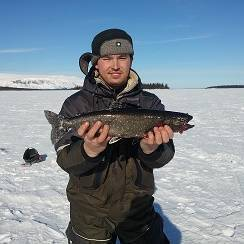 Зимняя рыбалка на кольском полуострове, село ловозеро - читайте на сatcher.fish