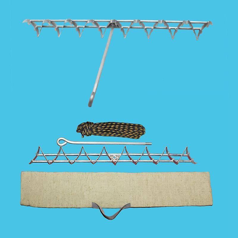 Донные косы для рыбалки: для очистки от водорослей, «мегатекс», traper и другие подводные косы
