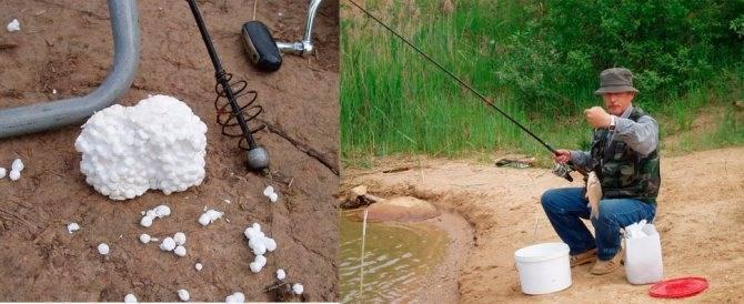 Ловля на пенопласт на течении. снасть для рыбалки на карася на пенопласт