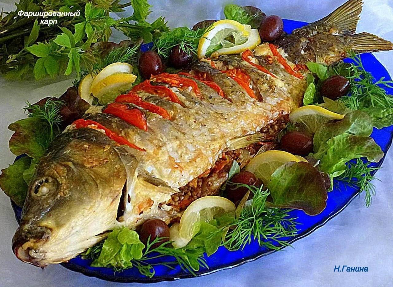 Карп запеченный в духовке в фольге - рецепт с фото. сочная, нежная рыба, кто пробует, остается в восторге  | народные знания от кравченко анатолия