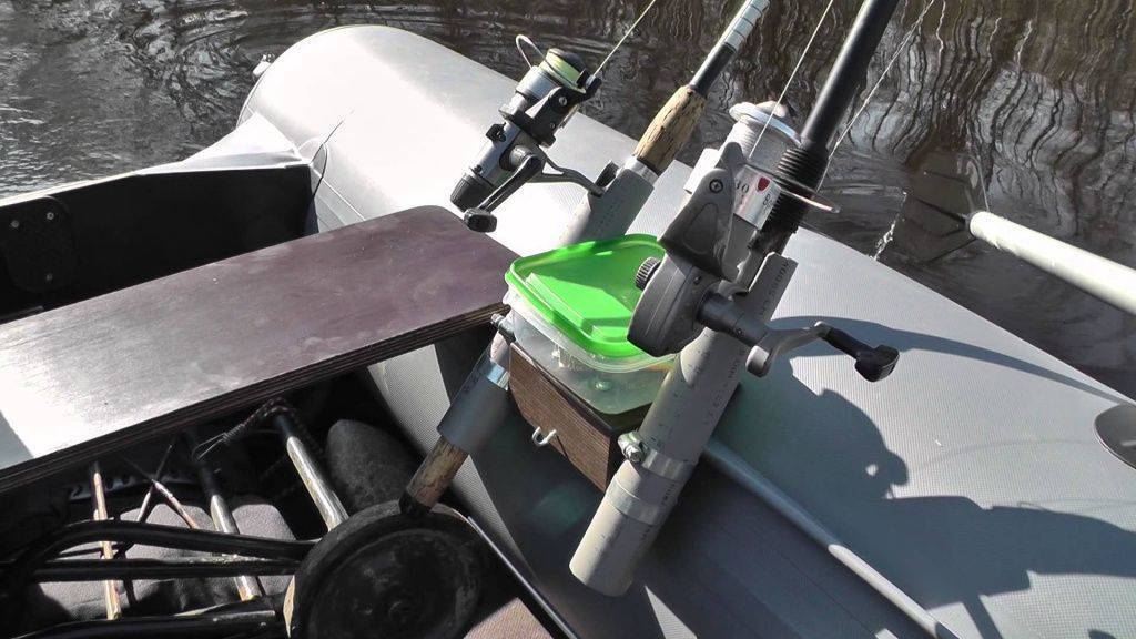 Держатель для спиннинга для пвх лодки - рейтинг лучших моделей и как сделать своими руками