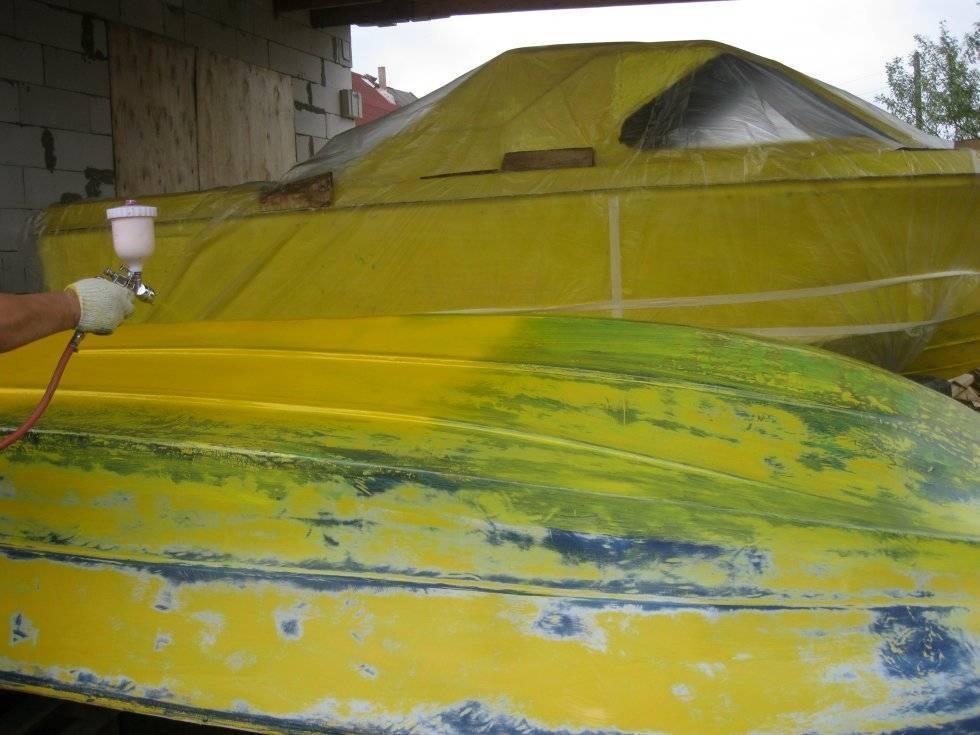 Покраска лодки своими руками. как покрасить лодку — руководство: подбор материалов и основные этапы работы