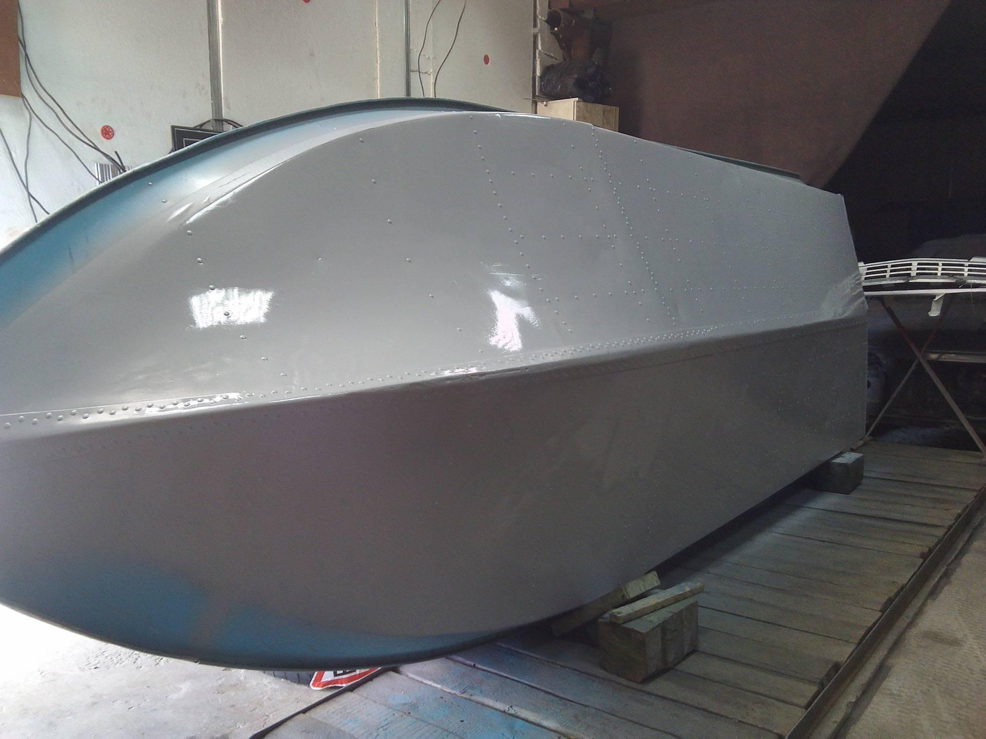 Чем покрасить лодку: краски для алюминиевых лодок