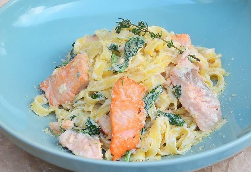 Фетучини с креветками: особенности приготовления вкуснейшего итальянского блюда