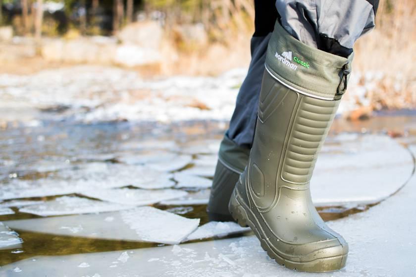 Сапоги для зимней рыбалки и охоты: характеристика обуви популярных производителей, отзывы охотников и рыбаков