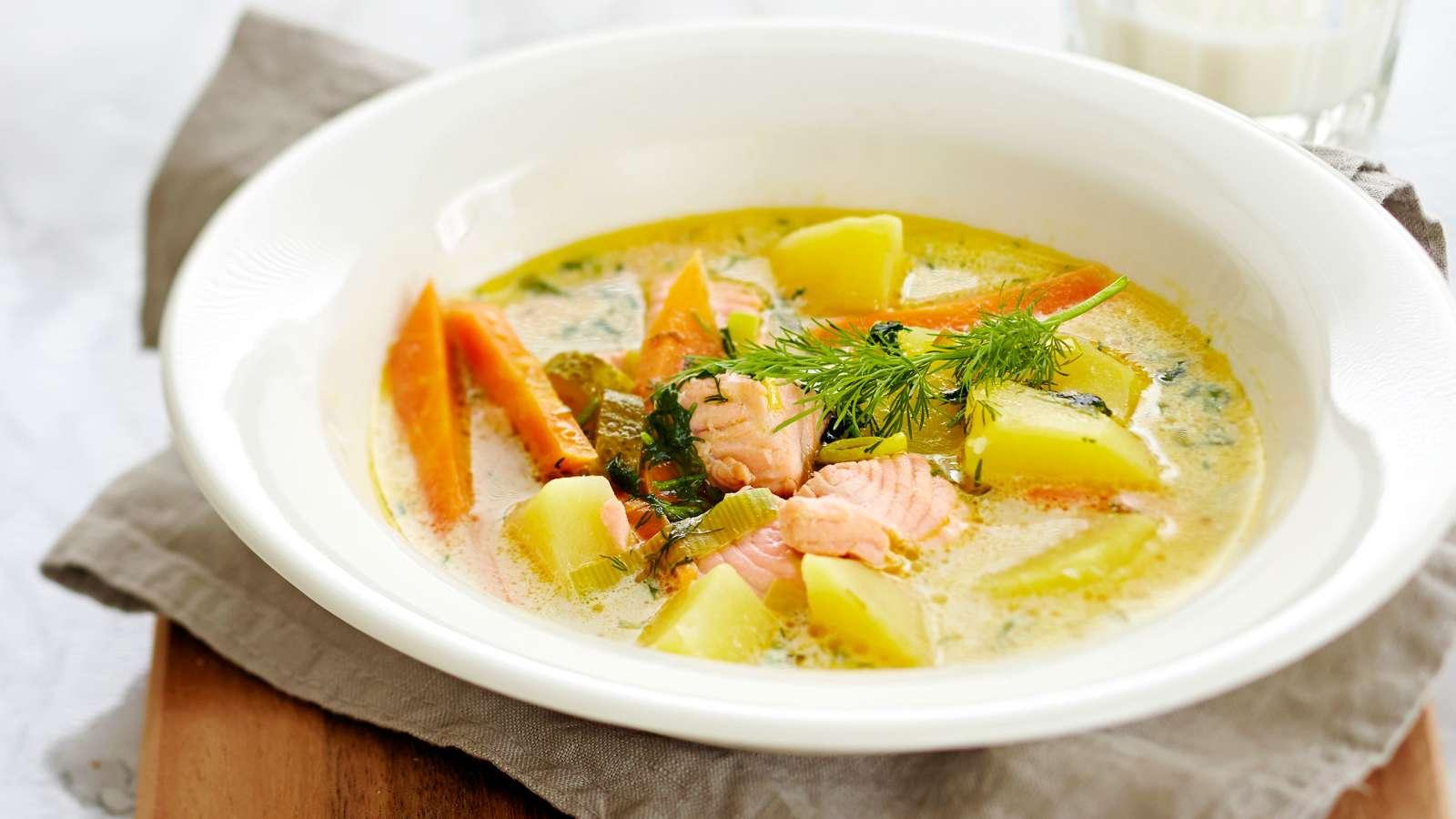 Суп из консервированной горбуши: 4 рецепта с фото