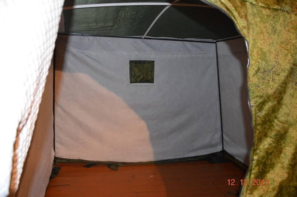 Палатка своими руками для комфортной рыбалки