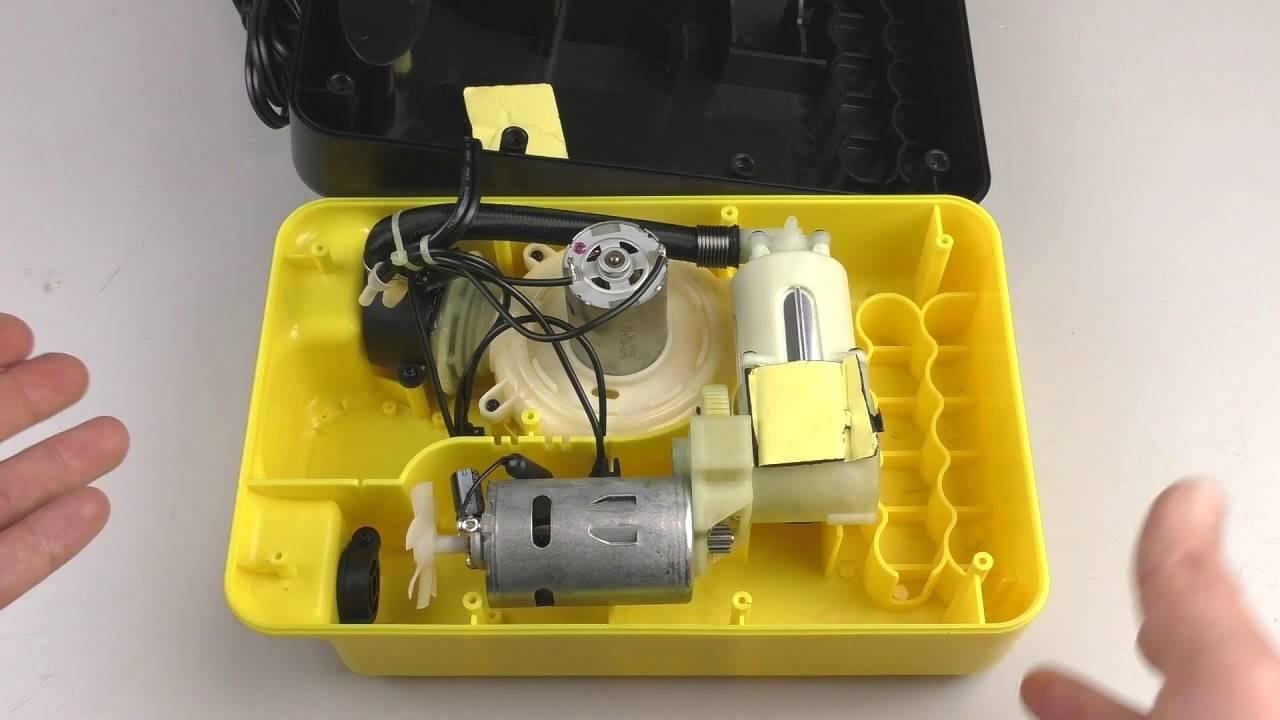 Электрический насос для ПВХ лодки — рейтинг лучших электронасосов с аккумуляторами, как сделать своими руками