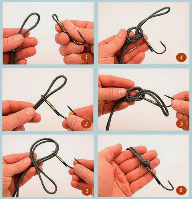 Как привязать карабин к леске: какой узел лучше?