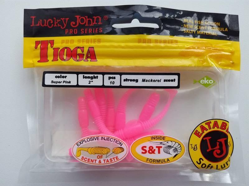 Lucky john tioga - лучшая бюджетная съедобная резина