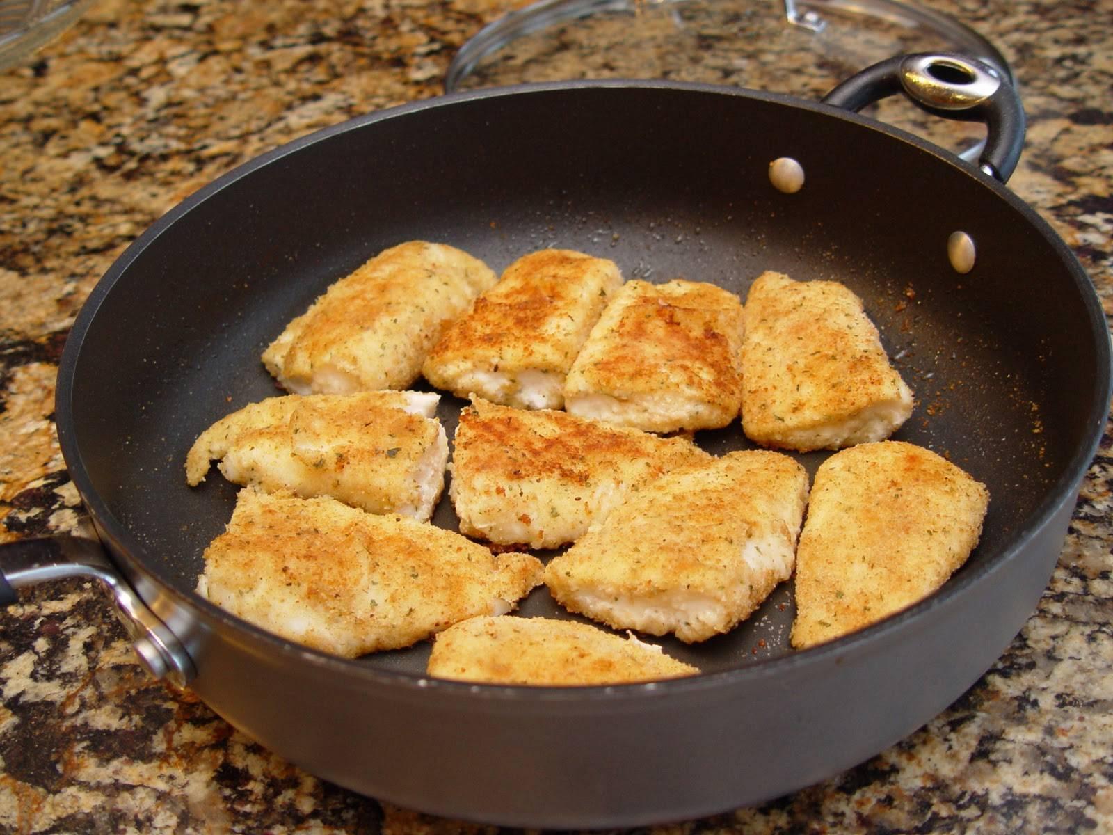 Как пожарить речную рыбку на сковороде - пошаговый рецепт