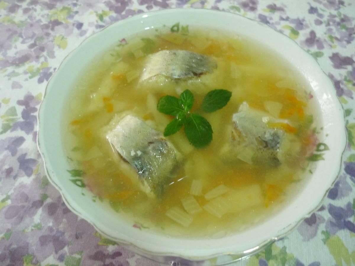 Рыбный суп уха из минтая рецепт с фото пошагово - 1000.menu
